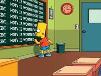 Les Simpson basculent en HD
