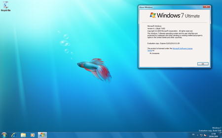 Windows 7 RC Build 7100