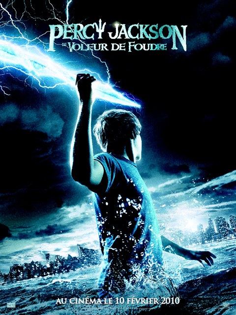 Percy Jackson & le voleur de foudre Poster