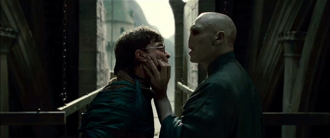 Harry Potter et Lord Voldemort