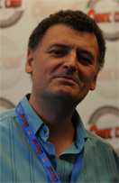 Photo de Steven Moffat - Crédits : Mr Awesome, le blog