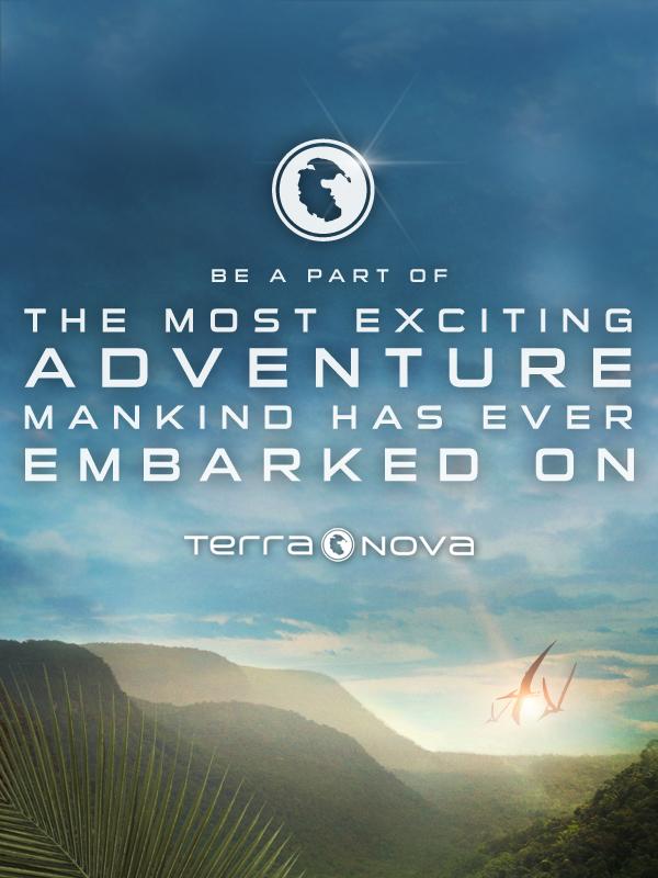 Poster teaser Terra Nova