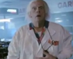 Doc Brown tourne dans une pub Argentine
