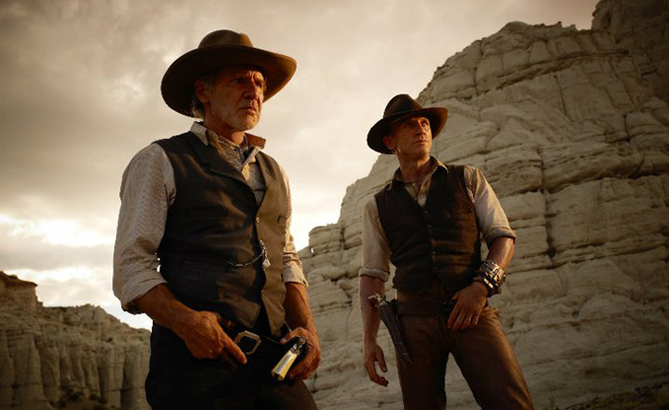 Harrison Ford et Daniel Craig