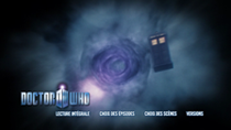 DVD Doctor Who saison 5 : Menu accueil