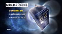 DVD Doctor Who saison 5 : Menu choix des épisodes