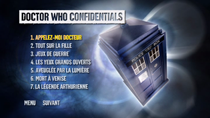 DVD Doctor Who saison 5 : Menu DW Confidentials