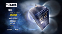 DVD Doctor Who saison 5 : Menu versions