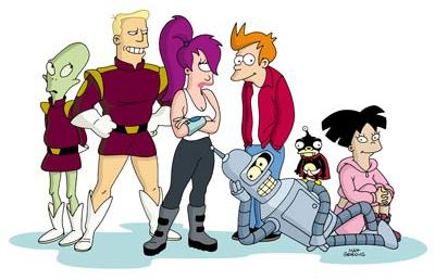 L'équipe de Futurama