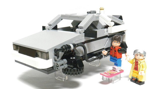 Delorean RVLF 2 par Lego Cuusoo