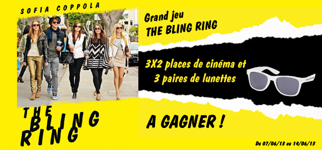 Grand jeu concours The Bling Ring