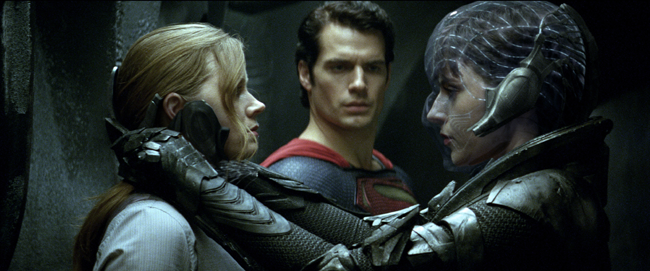 Man of Steel : Amy Adams, Antje Traue, Henry Cavill