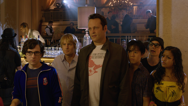 Billy (Vince Vaughn) et Nick (Owen Wilson) et leur équipe de geeks.