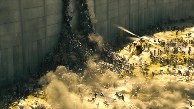Les zombies envahissent Jérusalem.