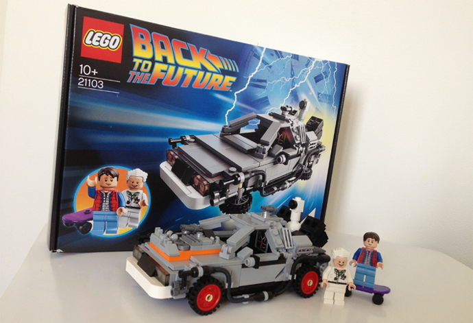 review delorean retour vers le futur de lego cuusoo le. Black Bedroom Furniture Sets. Home Design Ideas