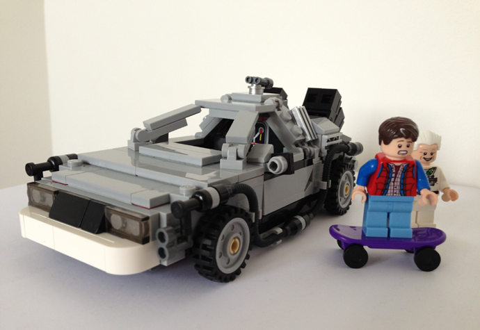 DeLorean Lego version RVLF1