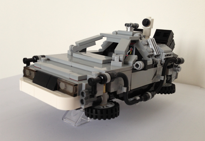 DeLorean Lego version RVLF2