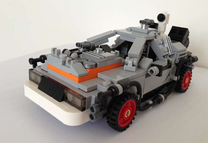 DeLorean Lego version RVLF3
