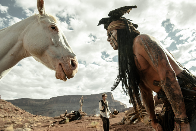 Johnny Depp (Tonto)