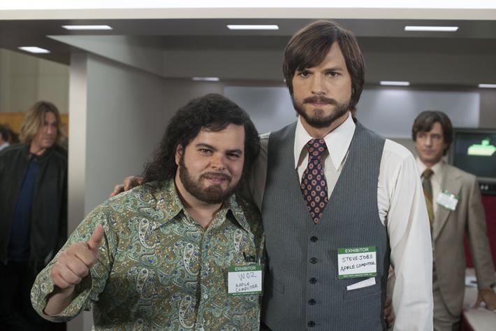Josh Gad et Ashton Kutcher
