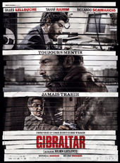 """Affiche du film """"Gibraltar""""."""