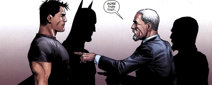 Bruce Wayne et Alfred Pennyworth