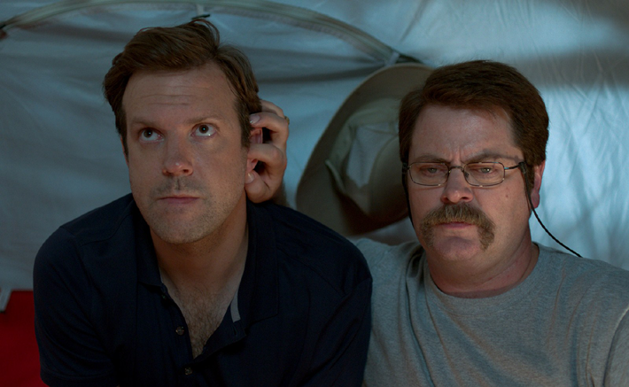 Jason Sudeikis et Nick Offerman.