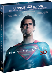 "Packshot ""Man of Steel"""
