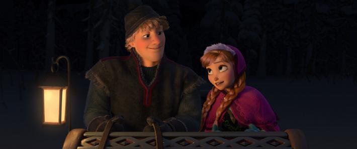 Kristoff et Anna (Frozen)